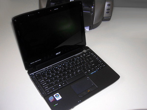 Notebook Aspire 2930 di Acer