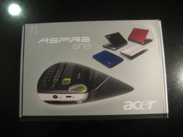 Acer Aspire One D150 unbox