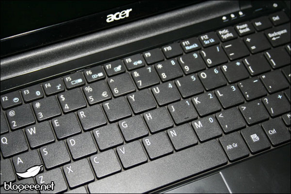 AAO 751, particolare della tastiera