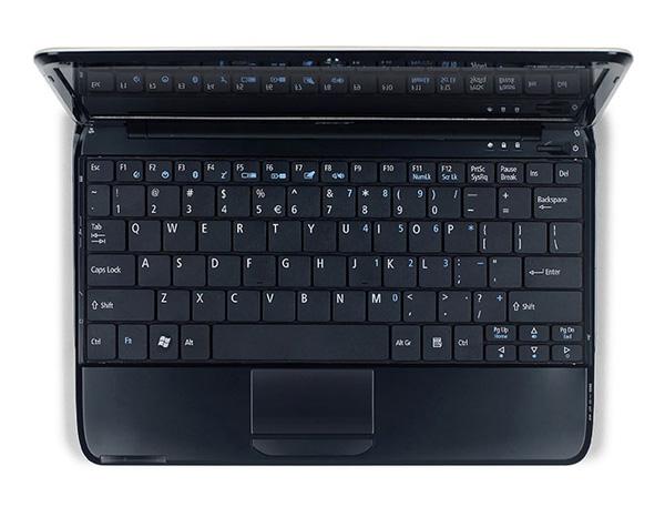 Acer Aspire One 751 tastiera