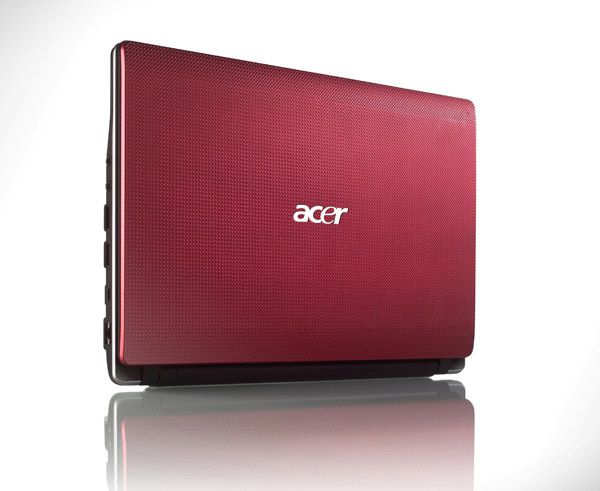 Cover rossa per Acer Aspire One 753