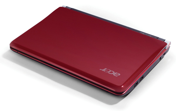 Acer One D150 in rosso
