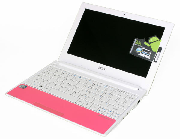 Netbook Acer Aspire One D255 Happy con android