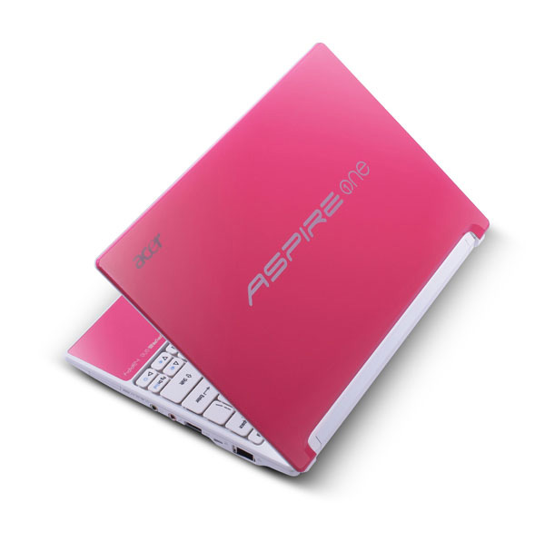 Acer Aspire One Happy candy pink