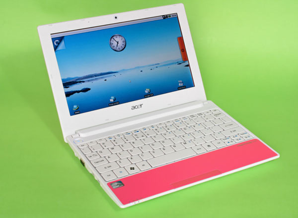 Acer Aspire One Happy e Android