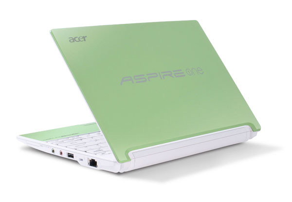 Acer Aspire One Happy lime