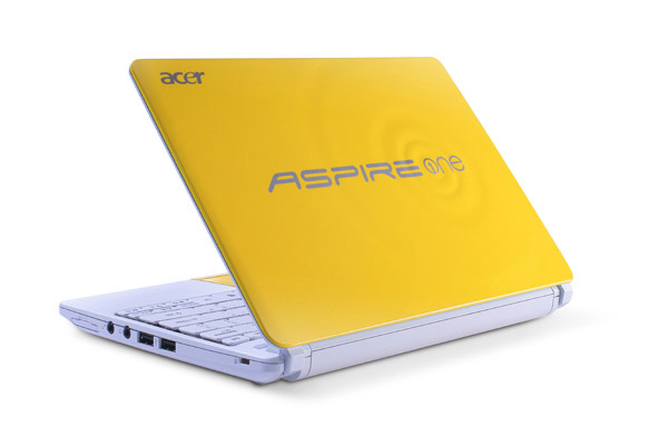 Acer Aspire One Happy 2 giallo