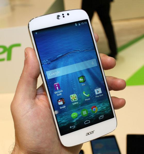 Acer Liquid Jade Z: foto e video live