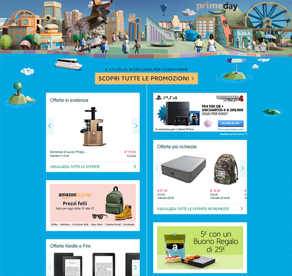 Amazon Prime Day: ecco i prodotti Microsoft in offerta