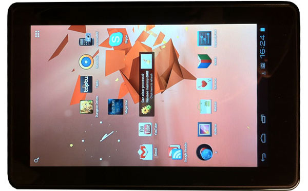 Amazon Kindle Fire, fronte