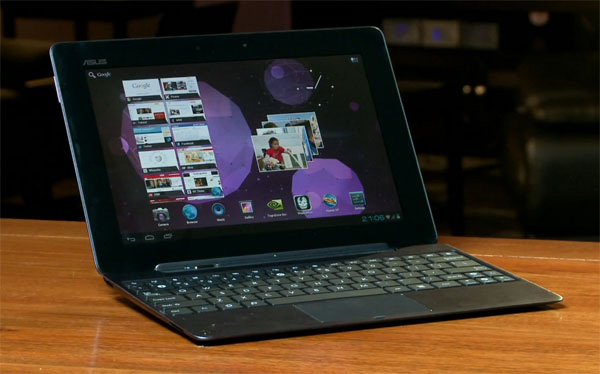 Android 4 Ice Cream Sandwich su Asus Eee Pad Transformer Prime