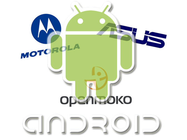 Cellulari Android da OpenMoko, Motorola ed Asus
