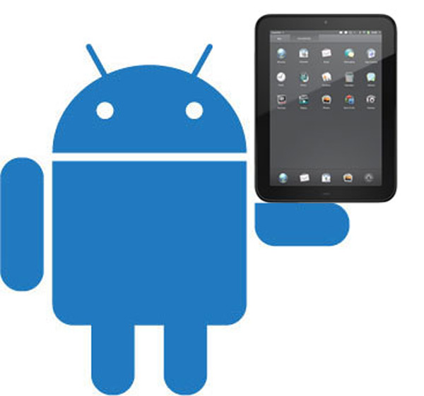 Android sul tablet HP Touchpad