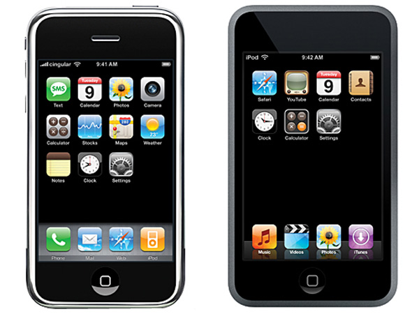 Apple iPhone 3G e iPod Touch