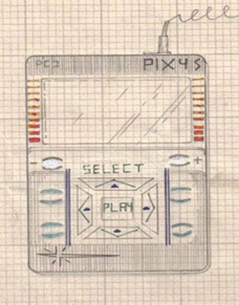 iPod aka IXI nel disegno originale di Kramer