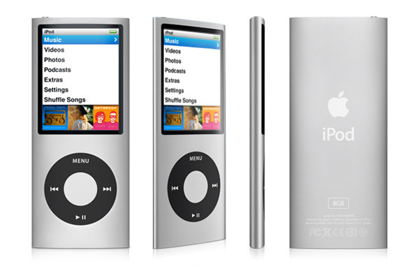 Apple iPod Nano 4G prospettive