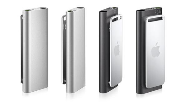 iPod Shuffle parlante nero e silver