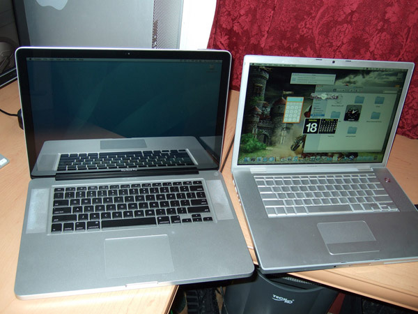 Apple Macbook glare e matte