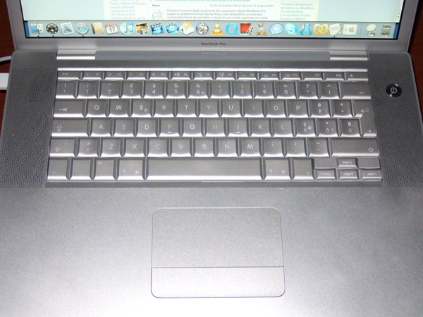 Apple MacBook Pro tastiera