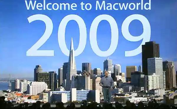 MacWorld 2009 senza Steve Jobs