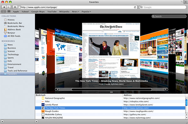 Apple Safari 4