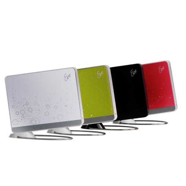 Asus Eee Box B208 in quattro colori