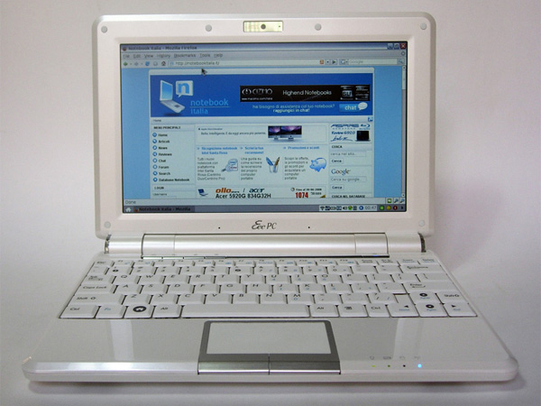 Asus Eee PC 1000 Notebook Italia