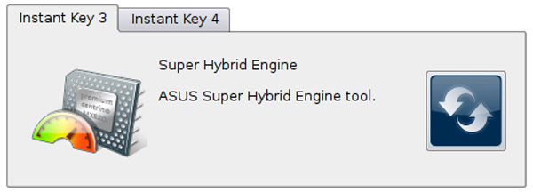 Super Hybrid Engine gestore risparmio energetico