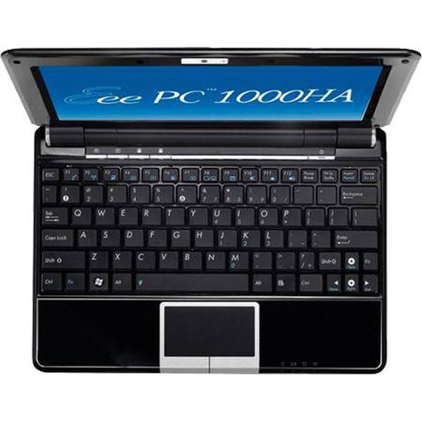 Asus Eee PC 1000ha con tastiera ad isola