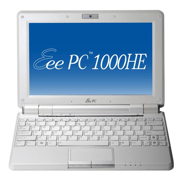 EeePC 1000HE in versione bianca