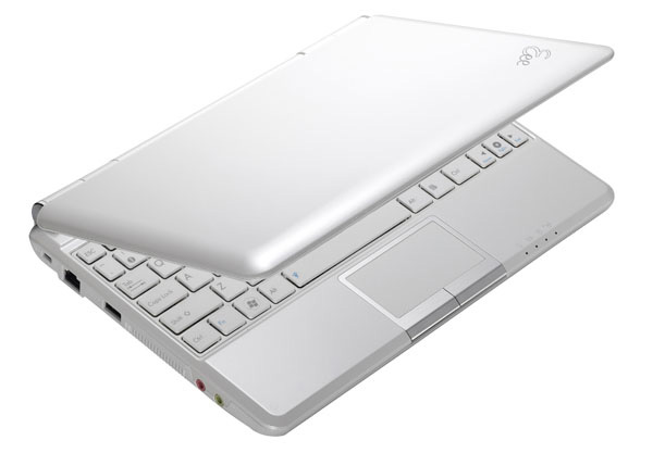 Asus Eee PC 1000HE pearl white