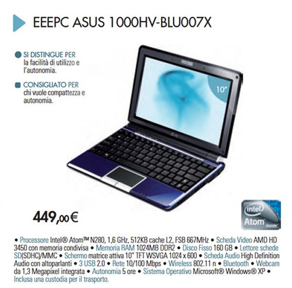 Asus Eee PC 1000HV