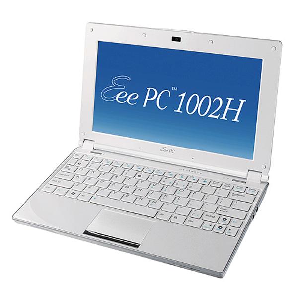 Asus Eee PC 1002H profilo destro