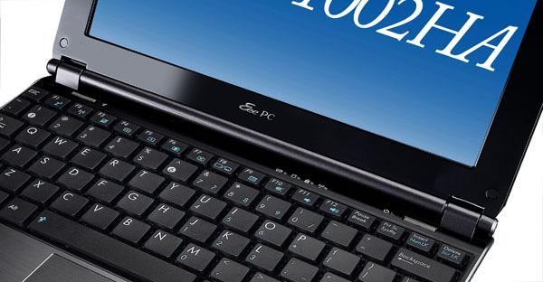 EeePC 1002HA tastiera