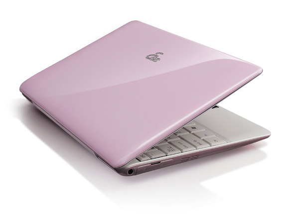 Asus Eee PC 1008HA rose pink