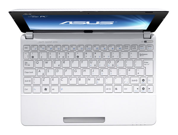 Asus Eee PC 1011px bianco