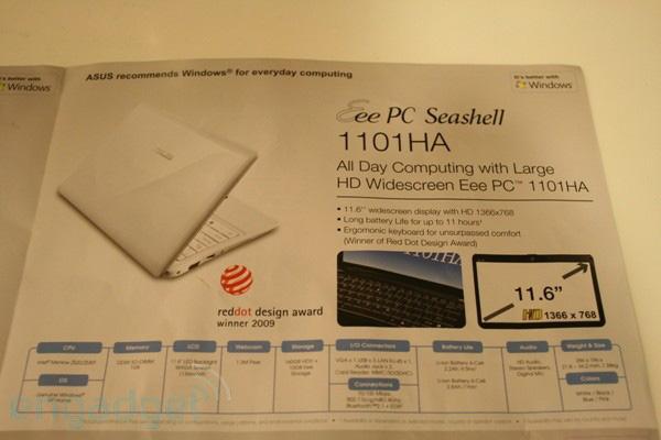Asus Eee PC 1101HA