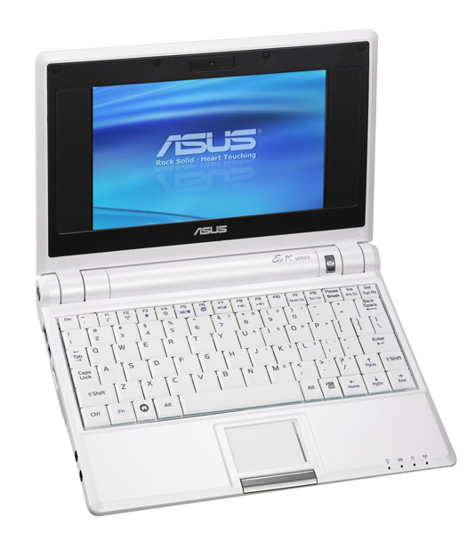 Asus Eee PC 4G pearl white