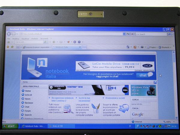 Online con Notebook Italia