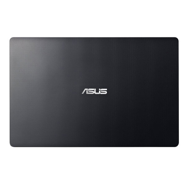 La cover dell'Asus F201 nero ha una decorazione geometrica
