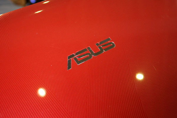 Asus K43 logo rosso