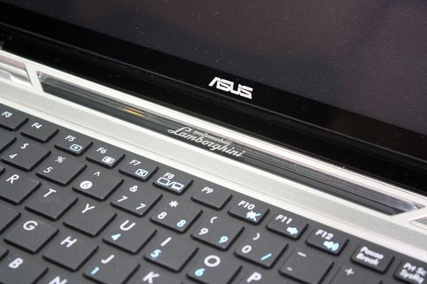 Asus Lamborghini vx6 dettaglio tastiera