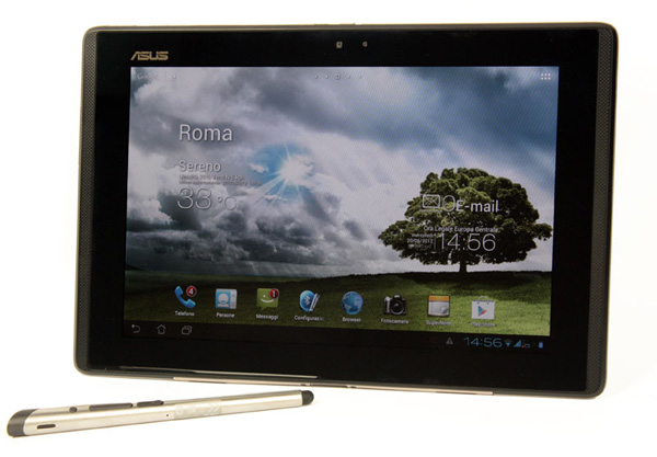 Il tablet Asus Padfone Station e la penna Stylus headset