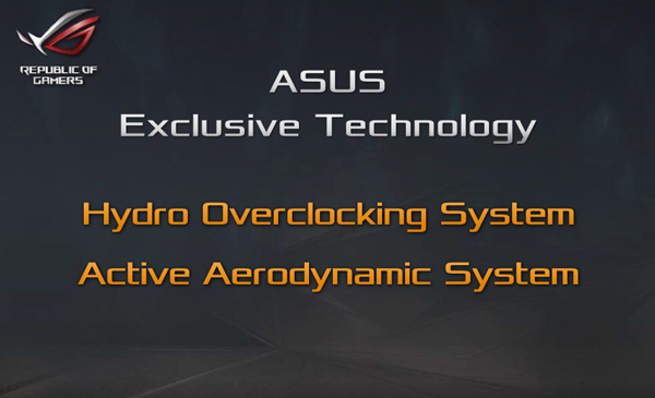 ASUS Active Aerodynamic System