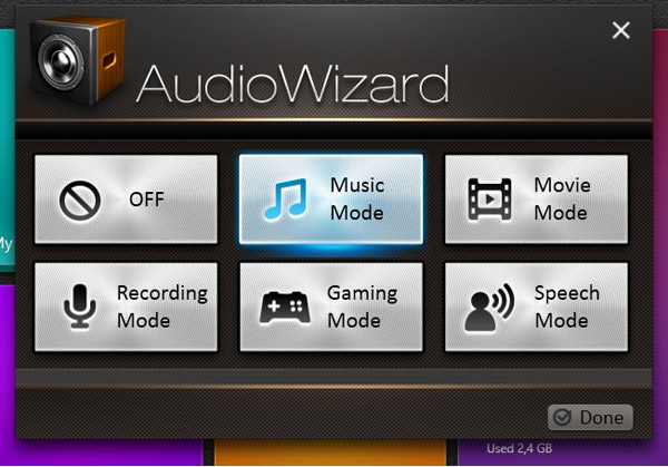 Asus Audio Wizard