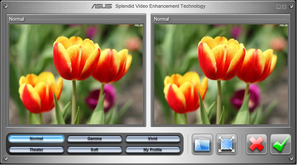 Asus Splendid Video Enhancer