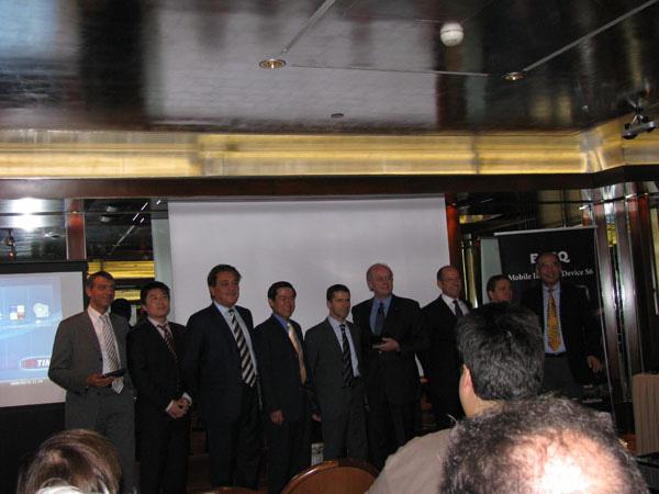 BenQ, Intel e TIM, foto di gruppo