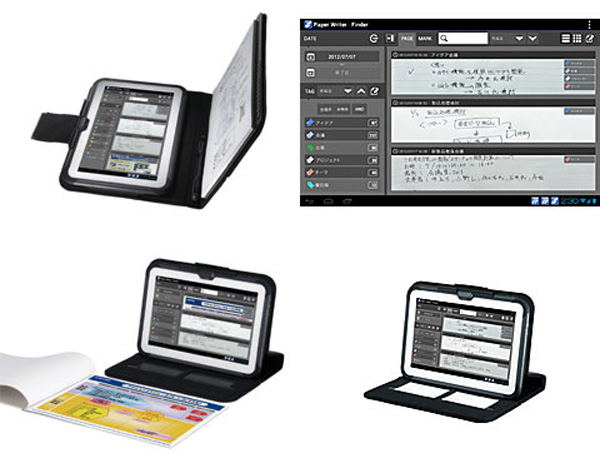 Il tablet Casio Paper Writer può disporre di penna e di accessori evoluti