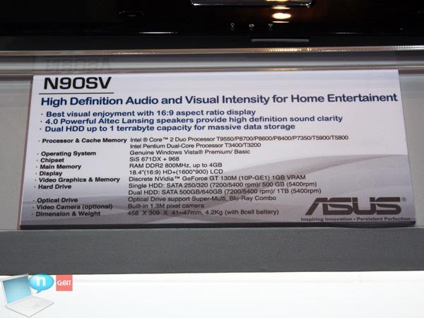 Asus N90Sv