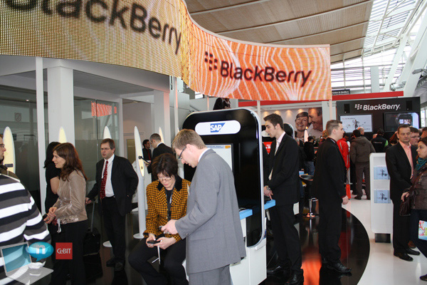 BlackBerry stand